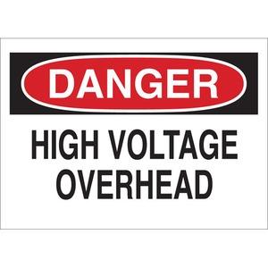 25546 ELECTRICAL HAZARD SIGN