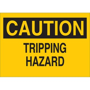 25606 FALL PROTECTION SIGN