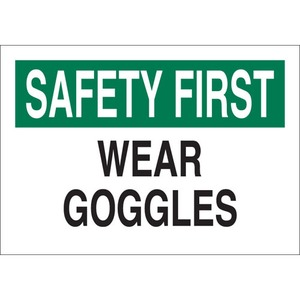 25583 EYE PROTECTION SIGN