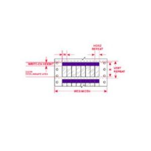"""DAT-37-292-PL 1.000 INX2.250""""  (25.40 MM"""