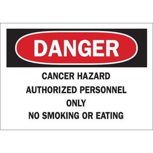 23090 CHEMICAL & HAZD MATERIALS SIGN