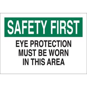 25576 EYE PROTECTION SIGN