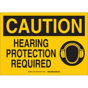 25894 EAR PROTECTION SIGN