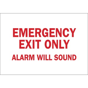 22483 DIRECTIONAL & EXIT SIGN