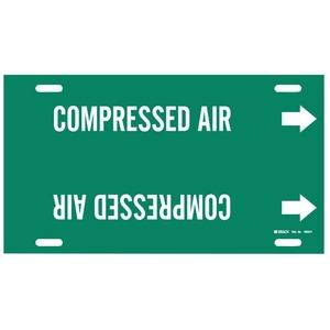 4033-F B915 STY F WHT/GRN COMPRESSED AIR