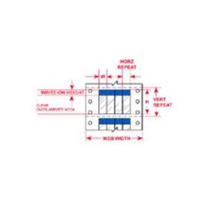 """DAT-38-292-BL 2.000 INX2.250""""  (50.80 MM"""