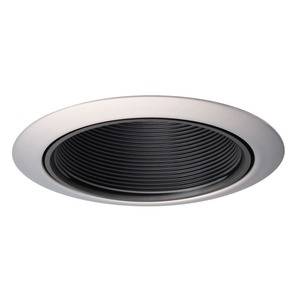 "14WWH 4"" WHITE BAFFLE TC1 TRIM 50W"
