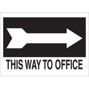 22473 DIRECTIONAL & EXIT SIGN