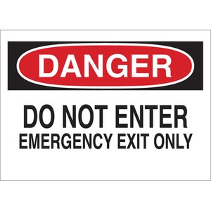 22084 DIRECTIONAL & EXIT SIGN