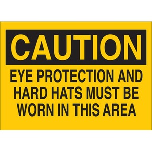 25200 PROTECTIVE WEAR SIGN