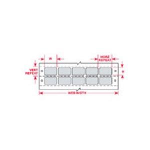 """DAT-74-637-10 1.250 INX0.375""""  (31.75 MM"""