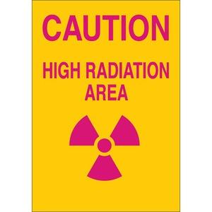 25272 RADIATION & LASER SIGN
