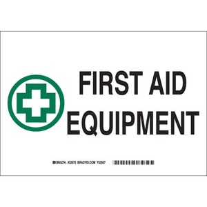 22670 FIRST AID SIGN
