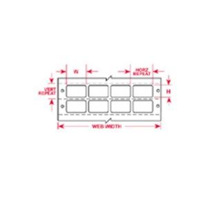 """BCDAT-8-619-5 1.500 INX0.250""""  (38.10 MM"""