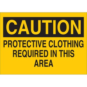 22415 PROTECTIVE WEAR SIGN