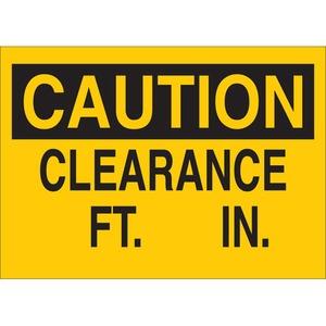 22863 MACHINE & OPERATIONAL SIGN