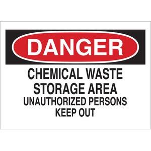22080 CHEMICAL & HAZD MATERIALS SIGN
