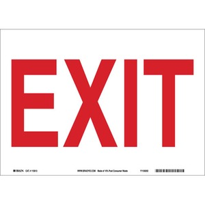 22489 DIRECTIONAL & EXIT SIGN