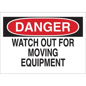 23047 MACHINE & OPERATIONAL SIGN