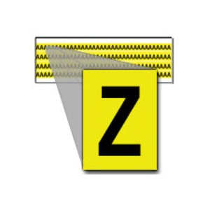 3400-Z 34 SERIES NUMBER & LETTER CARD