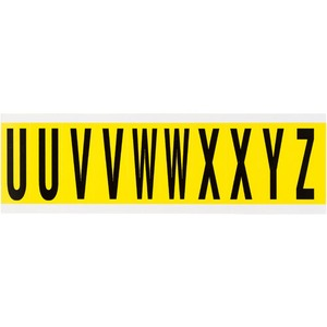 34442 34 SERIES CONSECUTIVE LETTERS: U-Z
