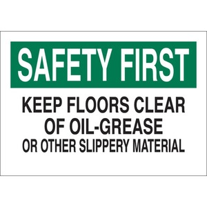 25631 FALL PROTECTION SIGN