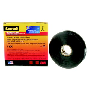 130C 3/4X30FT RUBBER SPLICING TAPE