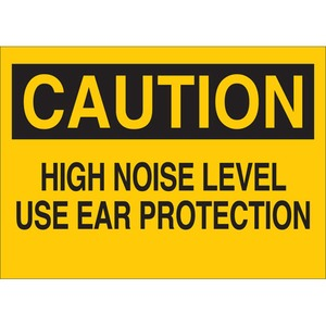 25475 EAR PROTECTION SIGN