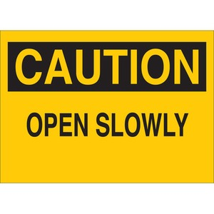 22517 MACHINE & OPERATIONAL SIGN