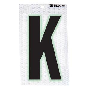 "3010-K BRADY 3""  SELF ADH LETTER K 10/PK"