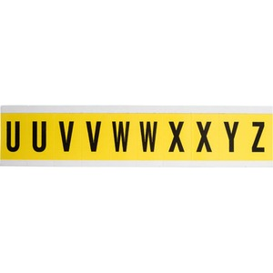 34342 34 SERIES CONSECUTIVE LETTERS: U-Z