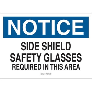 25570 EYE PROTECTION SIGN