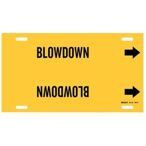 4014-G 4014-G BLOWDOWN YEL/BLK STY G