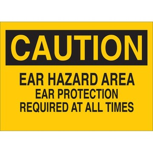 25454 EAR PROTECTION SIGN