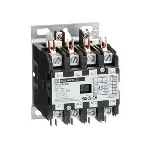 8910DPA44V02 DP CONT 40A 4P 120V COIL