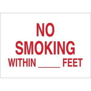 25137 NO SMOKING SIGN