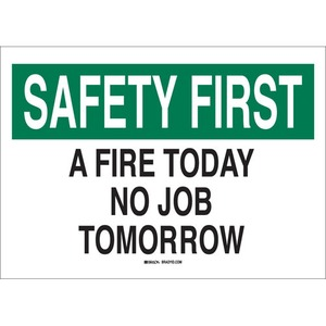 25688 SAFETY SLOGANS SIGN