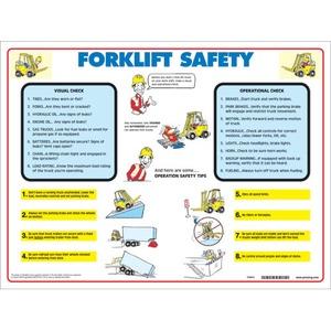 FLSP PRINZING FORK LIFT SAFETY POSTER TU