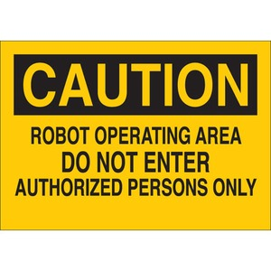 22069 MACHINE & OPERATIONAL SIGN