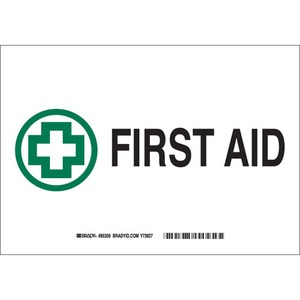 22669 FIRST AID SIGN