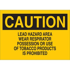 22713 CHEMICAL & HAZD MATERIALS SIGN