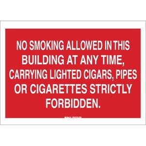 25122 NO SMOKING SIGN