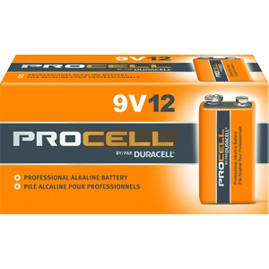 PC1604 BATTERY ALKALINE PROCELL 9V