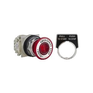 9001KR9R05H13 30MM ESTOP RED MAINT
