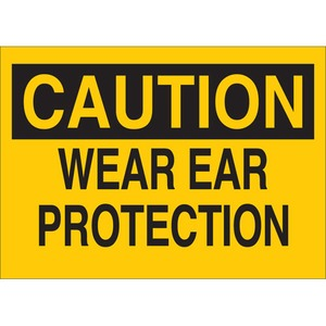 25477 EAR PROTECTION SIGN