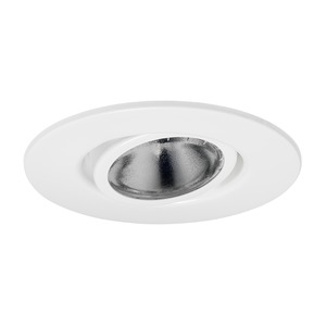 "V4010WH POT LT TRIM 4"" FLUSH/GIMBAL"