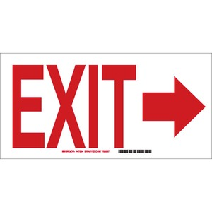 22456 DIRECTIONAL & EXIT SIGN