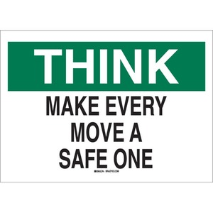25331 SAFETY SLOGANS SIGN