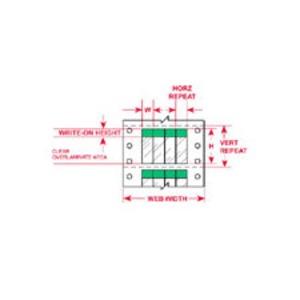 """DAT-40-292-GR 2.000 INX3.750""""  (50.80 MM"""