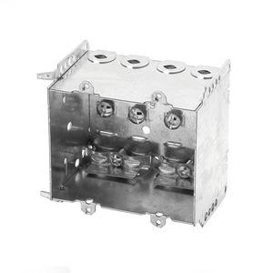 BC2104LLE2 BOX 2 1/2IN DEEP 2 GANG